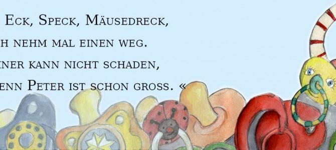 Mit Klaus Schnullermaus den Schnuller abgewöhnen!